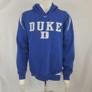Nike Team Duke Blue Devils Hoodie Mens Large